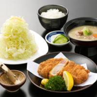 黒豚ロースとんかつ(180g)定食