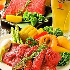 赤身牛ステーキ