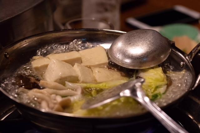 伝承 天文館湯豆腐 1,000円(税込)